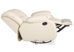 RONALD KAB, křeslo relaxační, výběr čalounění kůže