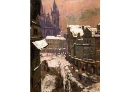 A-1156 Gustav Macoun - Pohled na Staroměstské náměstí
