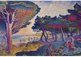 Slavné obrazy IX 13 Henri-Edmond Cross - Piknik