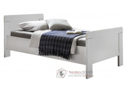MARGITA 298, postel 100x200, bílá