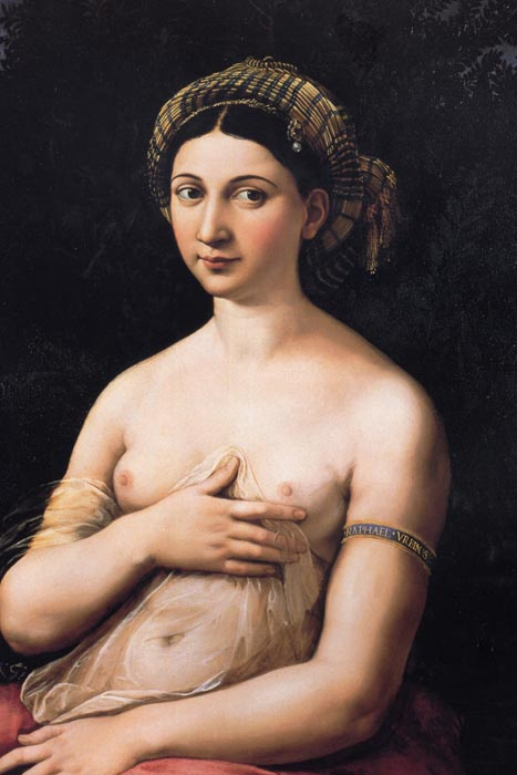 R11-108 Rafael Santi - Portrét mladé ženy