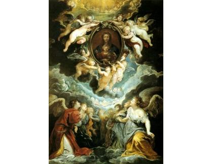 VRU88 Peter Paul Rubens - Madonna Della Vallicella uctívána Seraphim a Cherubim