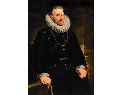 Slavné obrazy I-DDSO-333 Peter Paul Rubens - Portrét arcivévody Albrechta VII