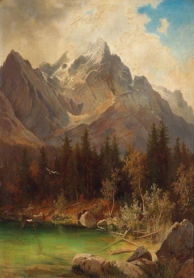 XV-104 Alois Kirnig - Alpská krajina