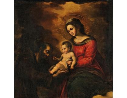 KO III-291 Neznámý autor - Madonna a dítě se svatým Františkem