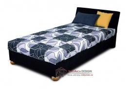 ZAPA, čalouněná postel 110x200cm
