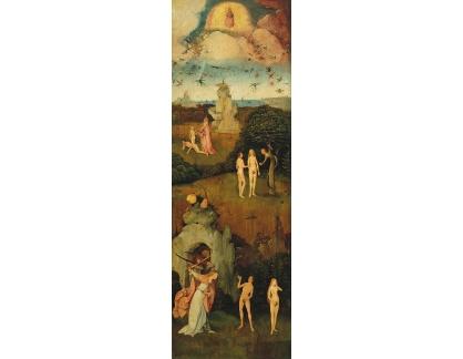D-6322 Hieronymus Bosch - Triptych vozy sena, levý panel