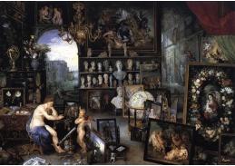 VH98 Jan Brueghel - Alegorie zraku