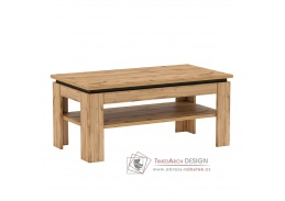 TORONTA T, konferenční stolek, dub wotan