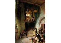 D-6041 August von Wille - Návštěva kláštera