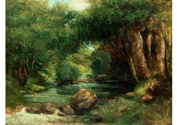 D-8158 Gustave Courbet - Potok v lese