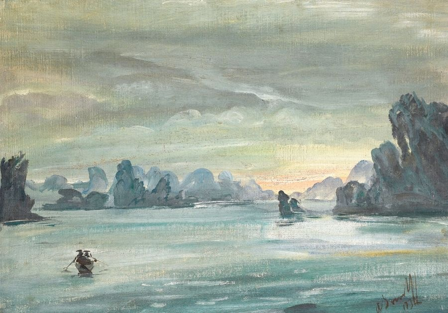 VR-394 Alexander Jevgenjevič Yakovlev - Ha Long Bay ve Vietnamu