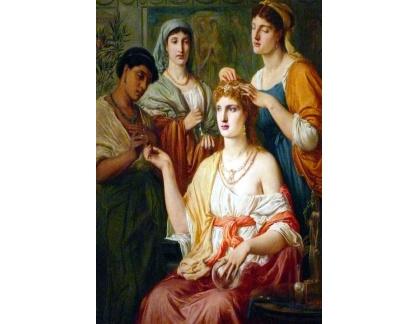 VANG142 Simeon Solomon - Toaleta římské dámy