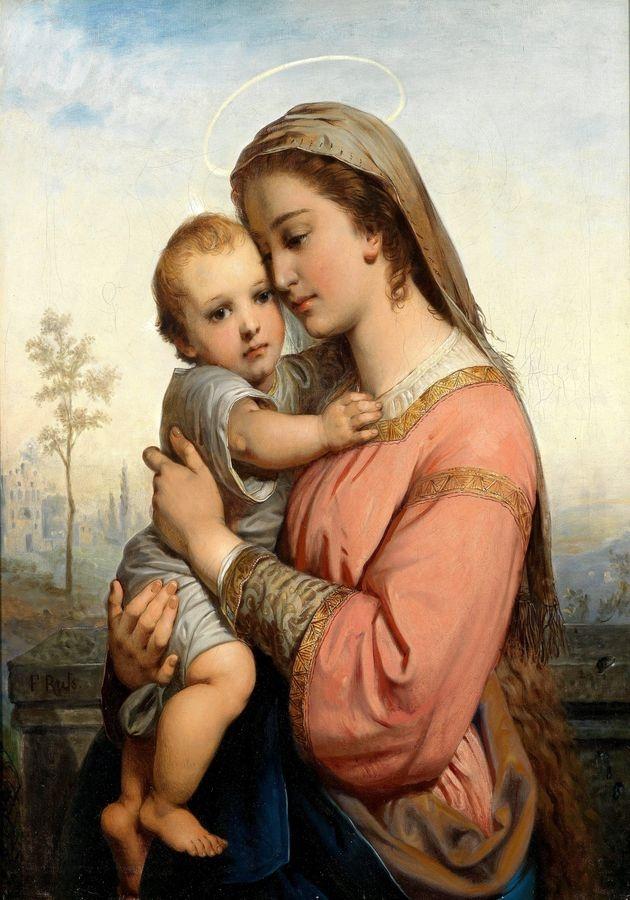 VRAK-108 Franz Russ - Madonna a dítě