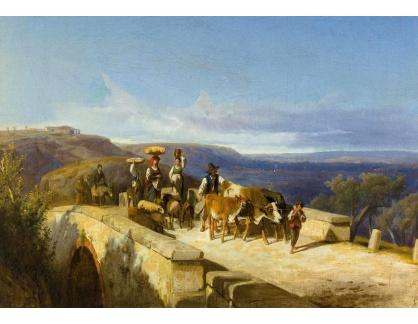 DDSO-1505 Andreas Marko - Rolníci na kamenném mostě