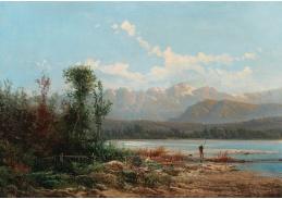 D-5812 Alfred Godchaux - Horská krajina s rybářem
