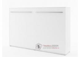 CONCEPT PRO CP-05, široká výklopná postel 120x200 cm, bílá