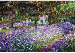 A-254 Claude Monet - Zahrada Claude Moneta