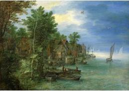 BRG-98 Jan Brueghel - Vesnice na řece