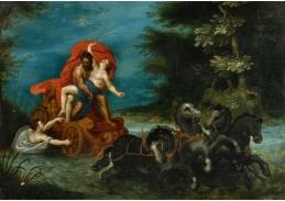 BRG-128 Jan Brueghel a Hendrik van Balen - Únos Proserpiny