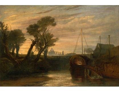 Joseph Mallord William Turner - Opatství Newark