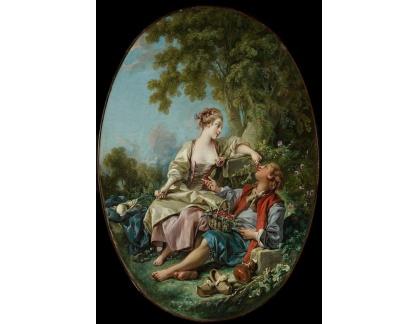 SO XVII-113 Francois Boucher - Střevíce