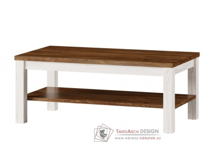 COUNTRY 41, konferenční stolek, borovice andersen / dub stirling