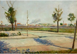DDSO-4084 Paul Signac - Cesta do Gennevilliers