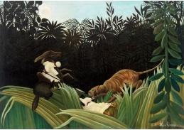 D-7267 Henri Rousseau - Napadení tygrem