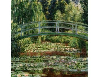 VCM 128 Claude Monet - Japonský most s lekníny
