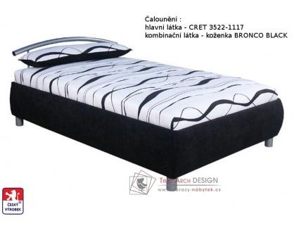 CEYLON, postel - válenda 90x200cm, volně ložená matrace