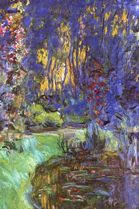 R8-203 Claude Monet - Zahrada v Giverny