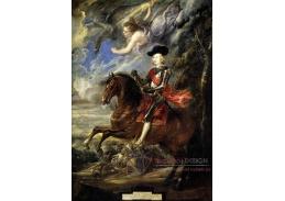 VRU07 Peter Paul Rubens - Kardinál - infant Ferdinand Rakouský v bitvě u Nördlingenu