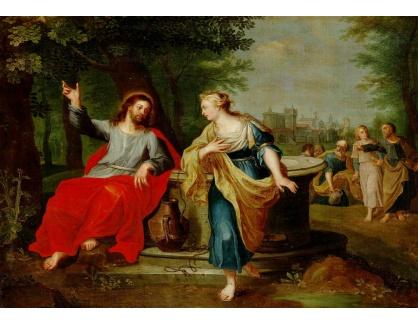 DDSO-1281 Peter Paul Rubens - Kristus a žena ze Samarie u studny