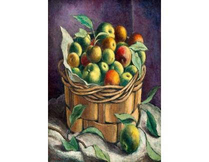 Krásné obrazy II-442 Nadia Benois - Zátiší s jablky