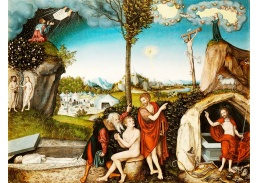 D-6167 Lucas Cranach - Zákon a milost
