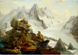 D-9310 Caspar Wolf - Lauteraarský ledovec