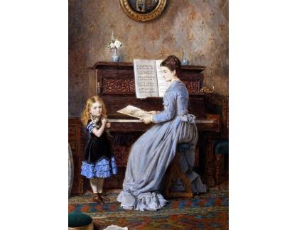 VANG314 George Goodwin Kilburne - Piano Lesson