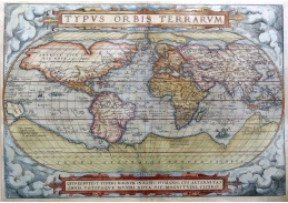 Obraz mapa 7110