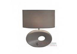 Keramická stolní lampa QENNY typ 11 šedá