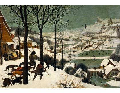 BRG-164 Pieter Brueghel - Lovci ve sněhu