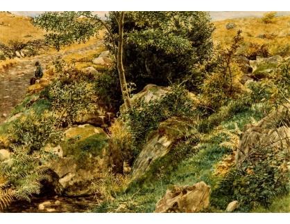 VANG179 George Price Boyce - Podzim ve velšských kopcích