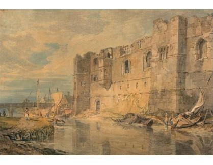 Joseph Mallord William Turner - Newark u Trentu