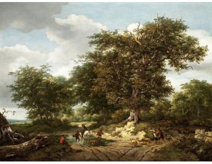 KO III-186 Jacob van Ruisdael a Nicolaes Berchem - Krajina