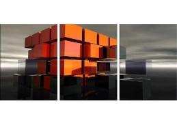 Obraz - Triptych 3D-1373