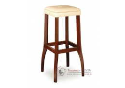DANIEL 373051, barová židle, bukový masiv / látka