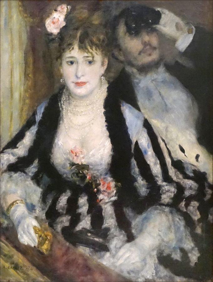 R14-100 Pierre-Auguste Renoir - Lóže v divadle