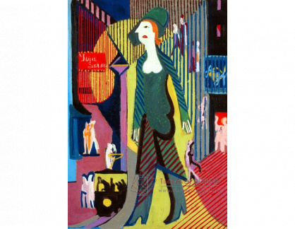 VELK 70 Ernst Ludwig Kirchner - Žena na ulici