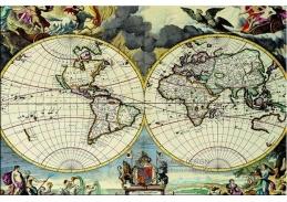 Obraz mapa 1301