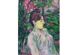 A-229 Henri Toulose-Lautrec - Žena v zahradě